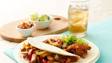 Spicy Juicy Fajitas