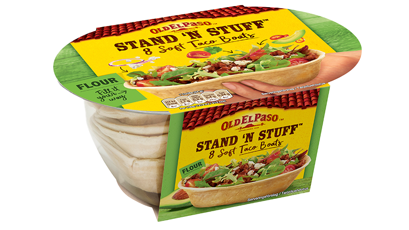 Stand 'N' Stuff™ Tortillas