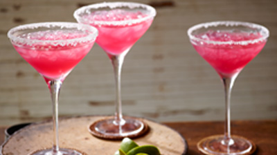 Cranberry Lime Margaritas