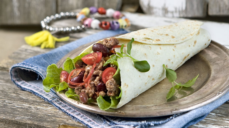 burritos-with-minced-meat-and-kidney-beans