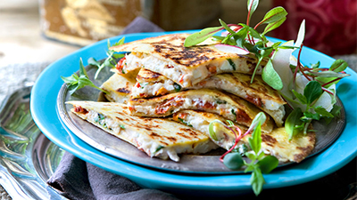 quesadillas-with-feta-and-almonds