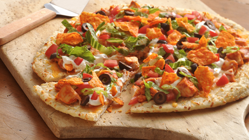 Chicken Taco Pizza
